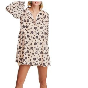 NWT Free People 'Turn' Mini Dress